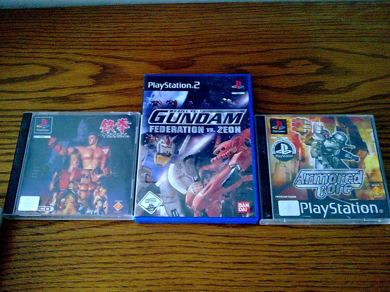 ps1&2 games