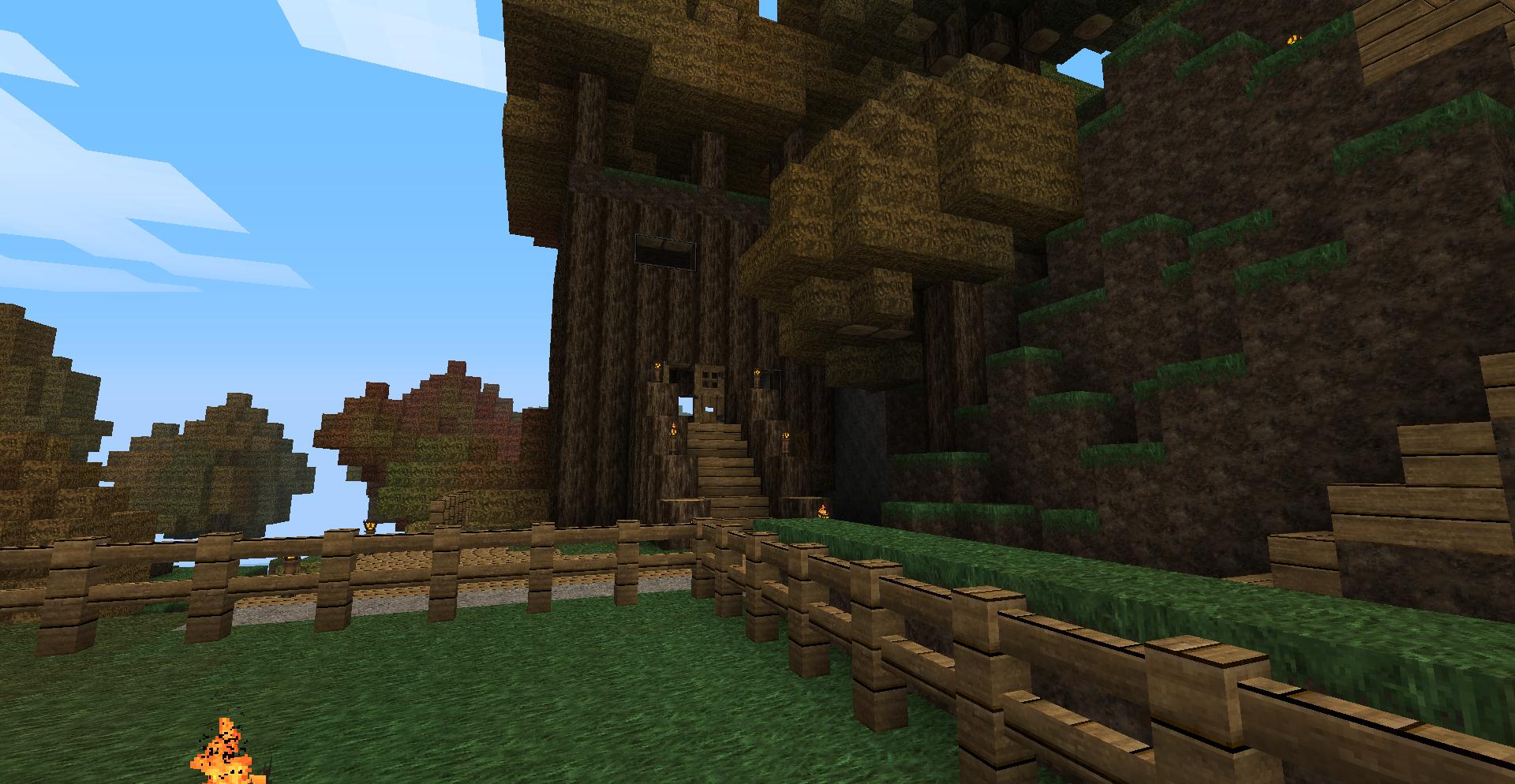 Minecraft Die Erste Sephixeu - Minecraft haus aus holz oder stein